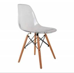 Título do anúncio: Cadeira Charles Eames Cristal, Nova, pronta entrega. Cor: Incolor