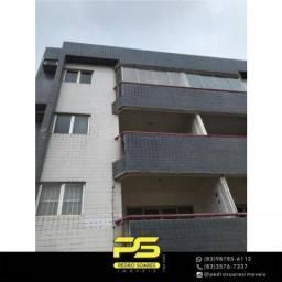 Apartamento com 3 dormitórios para alugar, 120 m² por R$ 2.000/mês - Poço - Cabedelo/PB