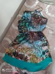 Vendo um vestido de micro fibra