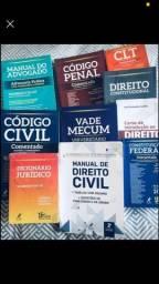 Kit livros Direito completo