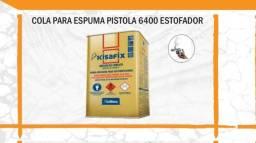 Cola Pistola para Espuma Kisafix  Estofador