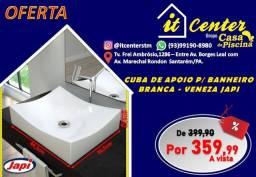 Cuba de Apoio Veneza para banheiro