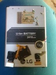 Bateria...cameras...alto falante e mic... Lg