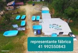 Fabrica de piscinas pra lojistas 3 .5 e  6 modelos de casco