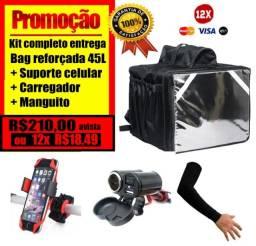 Bag Entrega Mochila Kit Entregador