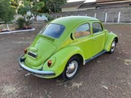 VW -Volkswagen Fusca 1974 - 1300 - Verde Hippie