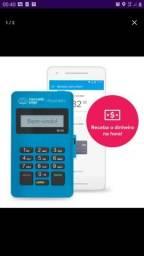 Maquininha de cartão mini mercado pago