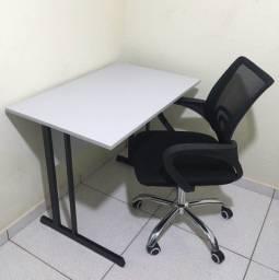 Mesa + Cadeira Giratória (Entrego)