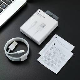 Cabo Lightning Usb 1m Apple E75  Compatível do iPhone 5 ao XS Max