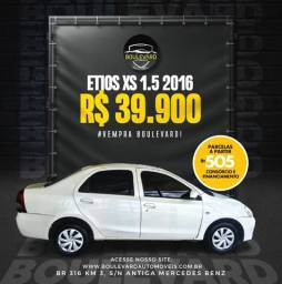Etios XS sedan 2016 R$ 39.900