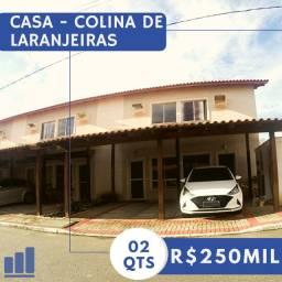 MS - Linda Casa 2q de Condomínio em Colina de Laranjeiras apenas R$250mil!!