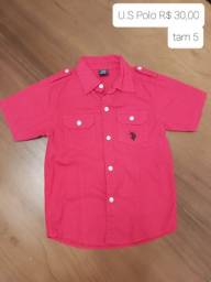 Camisa U.S Polo - tam 5