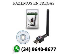 Antena Wi-fi Adaptador Wireless 1200mbs Usb Pc Notebook Novo Lacrado (Fazemos Entregas)