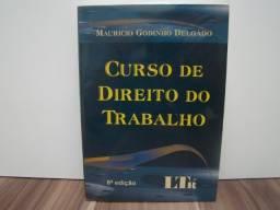 Livro Curso de Direito do Trabalho / autor: Mauricio Godinho Delgado