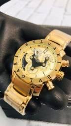 Relógio Bvlgari prova d?água #8833