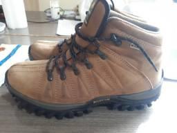 Tênis Masculino Bota Adventure M Boots Couro Legítimo