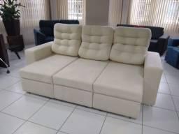 Sofá de 3lug- retrátil e reclinável direto de fábrica promoção 2.300 pix