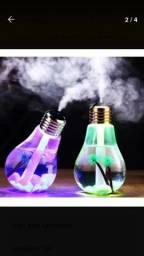 Umidificador ultrassônico de ar luminária e abajur
