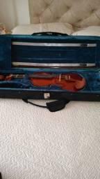 Violino semi novo com case