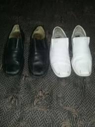 Sapatos de couro original !!! Desapego