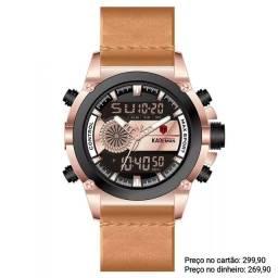 Relógio Masculino Importado Original Kademan EXCLUSIVO
