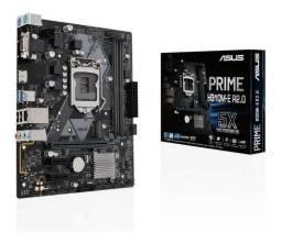 Placa Mae Asus Prime H310m-e R2.0, LGA1151,Slot DDR4, Intel de 8ª 9ª Geração