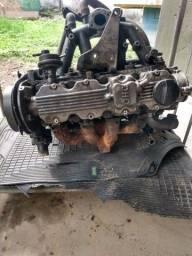 Motor e caixa de macha