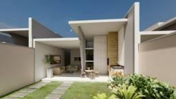 (SI) Casa nova no Eusébio, 3 quartos (2 suítes), sala, coz, quintal e garagem