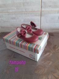 Lindos sapatos bebê menina