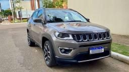 Jeep Compass Limited flex com 16.200 km. Preço FIPE. Impecável e na garantia de fábrica.
