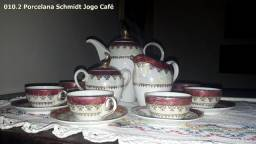 Jogo de Café porcelana Schmidt