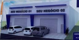4 Galpões colados -área 1.373m², 343m² cada - Jatobá - N. Horizonte - em construção