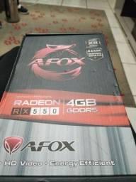Rx 550 4gb ddr5