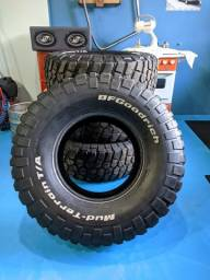 Jogo de pneu BFGoodrich Mud-Terrain 37x12.50r17