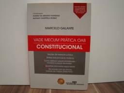 Livro Vade Mecum Prática OAB - Constitucional / Autor: Marcelo Galante