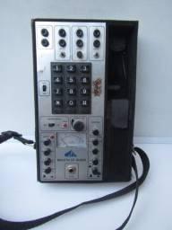 Equipamento Antigo Telefonia Maleta de Audio