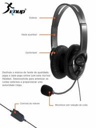 Fone Ouvido Headset Gamer P2 Microfone Pc Ps3 Ps4 Skype