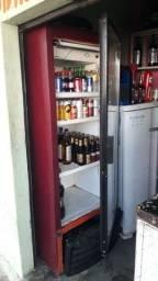 Freezer e geladeira usada