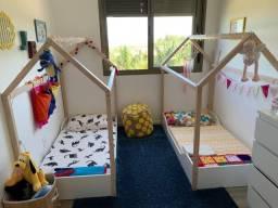 Cama Casinha Pin Play Montessori Junior 78cm