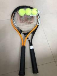 Raquete de Tênis 2 por 1