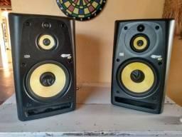 Título do anúncio: Monitores de áudio Krk Rokit Ativos