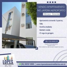 Vendo Apartamento em Ótima localização no Jardim Aeroporto Várzea Grande