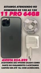 Título do anúncio: iPhone 11 pro max 64GB v vitrine )