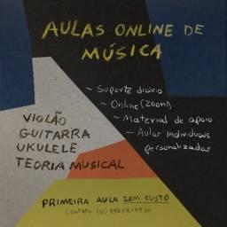 AULAS ONLINE DE MÚSICA!