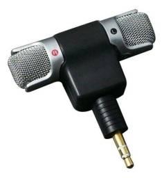 Microfone Mini Para Reportagem Smartphone Celular Externo