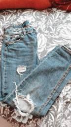 Mom Jeans 34 veste 36