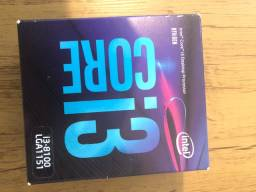 Kit upgrade pc gamer. Processador Intel i3 - 8100 + placa mãe gigabyte H310 M.2