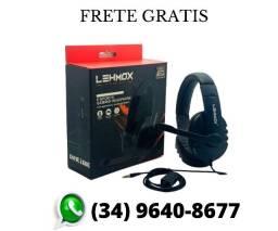 (Frete Gratis) Fone De Ouvido Gamer Preto Ps4 Pc Celular P3 Xbox Microfone