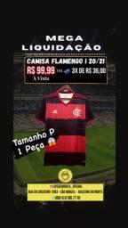 Mega Liquidação Camisas Flamengo