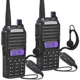 Kit 2 Radio Baofeng Uv-82 Ht Dual Band Bateria 5000mh